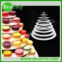 HIGH QUALITY 8 Tiers Full Acrylic Macaroon Holder Macaron Tray Macaroon Display Tray