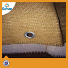 150g brown and white high quality tennis net with mental eyelet