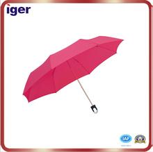 nylon/polyester/pongee/pvc cheap folding umbrella plastic handle