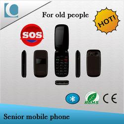 alibaba China dual sim mobile phone flip senior cell phone