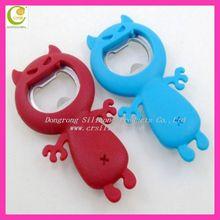 Manufacturers selling eco-friendly animal shape bottle opener,can opener,kitchen tools cartoon beer bottle opener