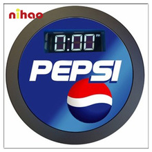 Promotional Lighted Digital Led Wall Clock Wholesale