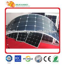 100W Semi Flexible light weight solar panel