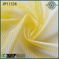 moderno tecido amarelo listra tecido de rede para calçados