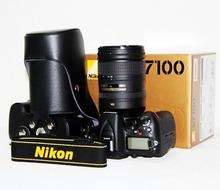 Vintage D90 SLR Camera Genuine Leather Bag For Nikon ( oem factory)