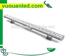 dmx512 led linear wall washer rgbw