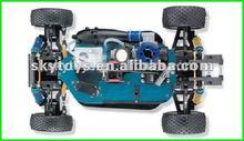 1 10 escala gas carros crianças vh-x5 powered gás de rc carros de controle remoto do motor nitro- y