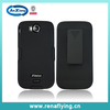 heavy duty kickstand clip mobile phone combo case for Lanix s400
