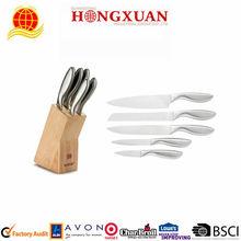 5 pcs knife sets with knifeholder/Kitchen Knife /stainless steel knife set