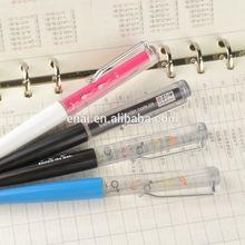 Novelty logo ball pen for promot gifts floating pen
