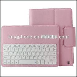 Split type detachable tablet keyboard leather case for ipad5