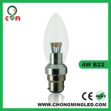 3W 4W 5W E14 360 degree SMD LED candle for Australia market