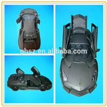 1/24 Scale plastic diecast model car, model car scale 1:24