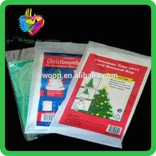 Yiwu China high quality cheap custom christmas tree disposal bag