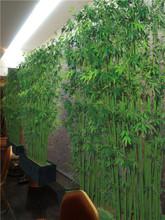 2014 nuevo producto de bambú artificiales, de bambú cerca de interior para la decoración al aire libre de mimbre