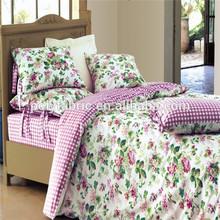 2014 New Fashion Polyester Brushed Fabric Bedding Duvet Set Guangzhou