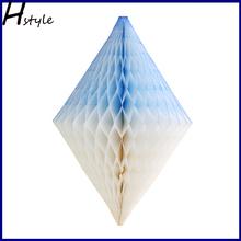 3D Diamond Paper Item Wedding Honeycomb Balls Decor For Weddings SD068