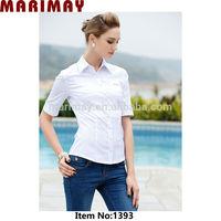 wholesale ladies shirt office uniform designs for women wear