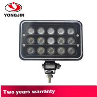 5'' led head light 9~32V led off road lights 45W LED truck light High Beam/ Low beam