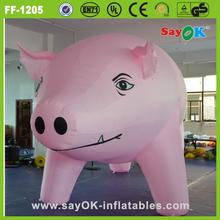 Custom inflatable animal life size giant inflatable pig inflatable animal