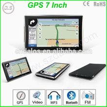 "Hot sales 7"" portable car gps/ GPS 7 inch GPS navigation"
