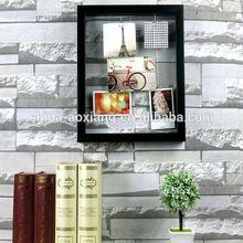 Quadro decoração festa foto DIY pendurado banhado a clipes com fotos - 5 P moldura de madeira sólida sofá