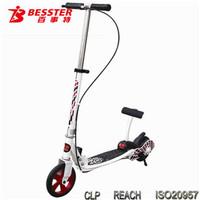 BEST KICK N GO JS-008A mini two wheel foldable cheap kick red proe bike scooter for sale kids with brake