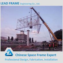 Exterior de acero en vallas publicitarias precio estructura de construcción