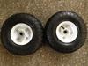 10 inch wagon wheels and axle 4.10/3.50-4