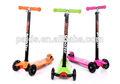 baratos scooter tubo vermelho com crianças kick scooter 3 rodas scooter para venda