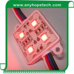 Adjustable color plastic house 1.44W 12v led module channel letter