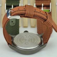 Hotsale fashion nato crocodile leather watch strap