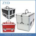 Profesional de aluminio caja de cosméticos de belleza, Maquillaje de baño salón bolso del almacenaje del caso ZYD-HZMmc021