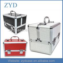 Aluminium Professional Beauty Cosmetic Box, Make Up Vanity Salon Storage Bag Case ZYD-HZMmc021