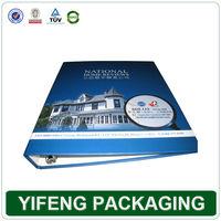 Custom design hard cover file folder wholesale