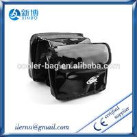 best selling wholesale fashion black PVC saddle bag