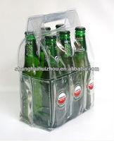 pvc cooler bag / pvc wine ice bag / pvc bag transparent