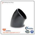 Lr de acero al carbono codo& amp accesoriosdetubería astm/asme a234 wpb