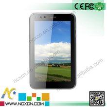 6.5 inch dual sim card+Dual-core,1.2GHz BT christmas gift 6.5 inch a13 tablet q88