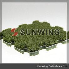 Interlocking grass tiles for Sports DIY