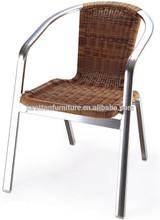 Synthetic plastic rattan furniture
