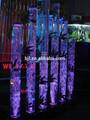 Led cachoeira acrílico aquário restaurante chinês decoração