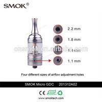 2014 alibaba Micro GDC smoktech tank airflow controller