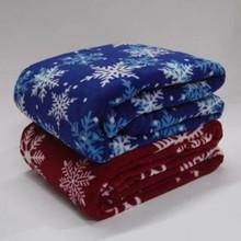 Autumn New fashion soft printed polyester polar fleece blanket
