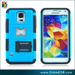 Made in china new products hoster stand case for samsung galaxy s5