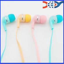 Free sample mobile earphone for samsung with Colorful
