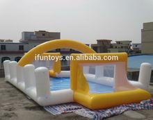 inflatable soap football/inflatable soap football field/inflatable soapy football field