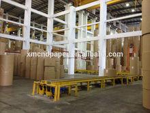 High quality Brown kraft liner paper/kraft paper/kraft paper jumbo roll