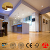 Natural Bamboo Floor Click Interlocking Removable Floor Tiles