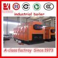 Un grado de la serie dzl caldera de carbón, de la biomasa, de pellets, madera 5 toneladas de vapor de la caldera llamada +86- 15093456342